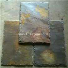 Brown Culture Stone Tile Cheap Slate Roofing Fish Scale Shape Roof Tiles