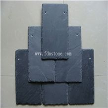 Ce Passed Split Surface Cheap Natural Stone Black Slate Roofing Tiles Culture Stone Panel