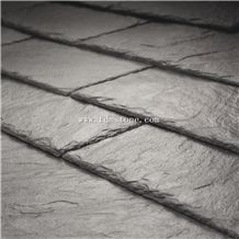 Jiangxi Building Stones Material Black Slate Square Roofing Tiles