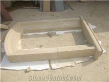 Beige Window Sills,Sandstone Window Surround