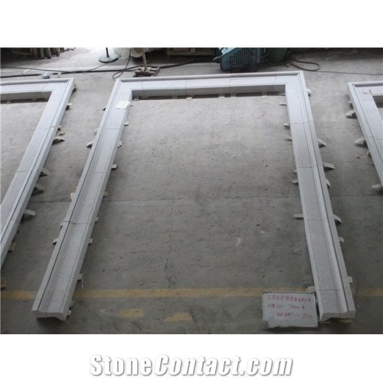 Grey Window Sill Granite Door Frame Granite Door Surround Grey