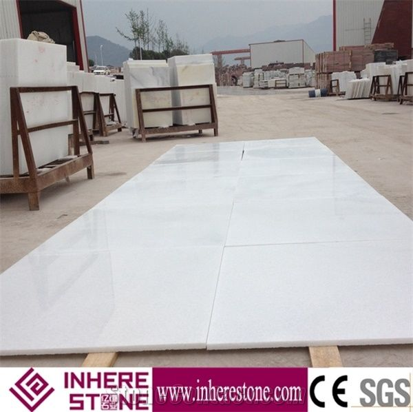 Hot Sale China Crystal White Marble Flooring, Sunny White Jade Marble, Snow White Marble - StoneContact.com