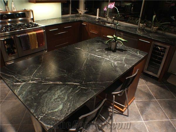 Marble Black Kitchen Countertop Sabian