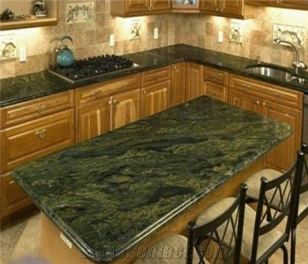 Kitchen Table Top Material: Marble Green Bench Top,Kitchen Countertop,Desk Top From