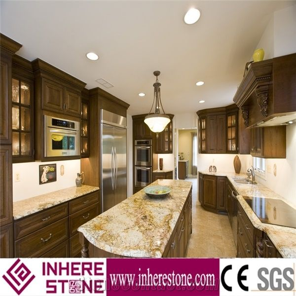 Yellow Marble Kitchen Island Top Kitchen Countertop From China Stonecontact Com