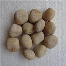Mystic Gold Pebbles, Beige Sandstone Pebbles, Mint Sandstone Pebbles, River Bed Pebbles