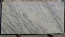 Volakas Venato Marble Slabs & Tiles, Greece White Marble