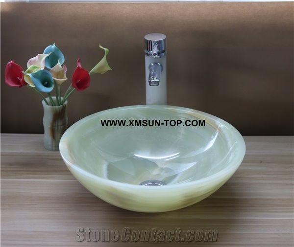 Light Green Kitchen Sinks Basins/Green Stone Bathroom Sinks ...