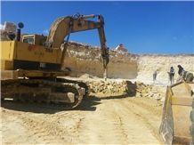 Giallo Provenza Limestone, Giallo California Blocks, Jaune Boujaad Limestone Blocks, Yellow Limestone
