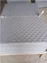 New G603 Granite,China Sardinia,Crystal Grey,Gamma Bianco, Silver Grey, Sesame White, Crystal Grey, Light Grey, Padang Light Luna White Tactiles Pedestrian Pavers Tiles Dalle Poto