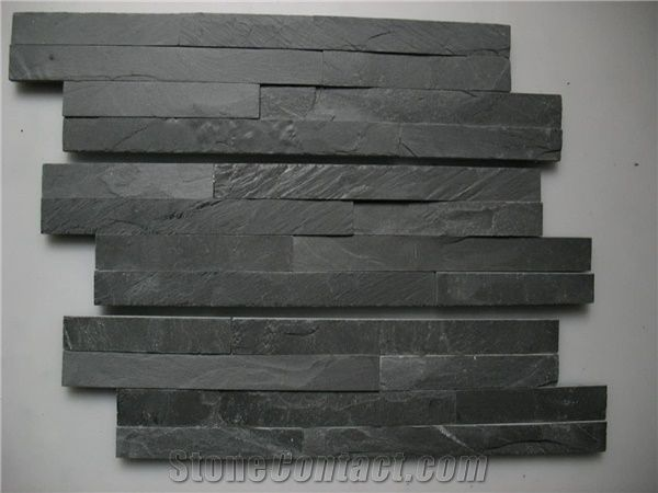 Wall Panels.Ledge Stone,Black Slate Culture Stone,Cultured Stone ...