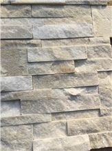 White Quartzite Cultured Stone,Stacked Stone Veneer,Quartzite Culture Stone Veneer,Quartzite Ledge Stone ,Feature Wall,Wall Cladding,Ledge Stone,Split Face Culture Stone