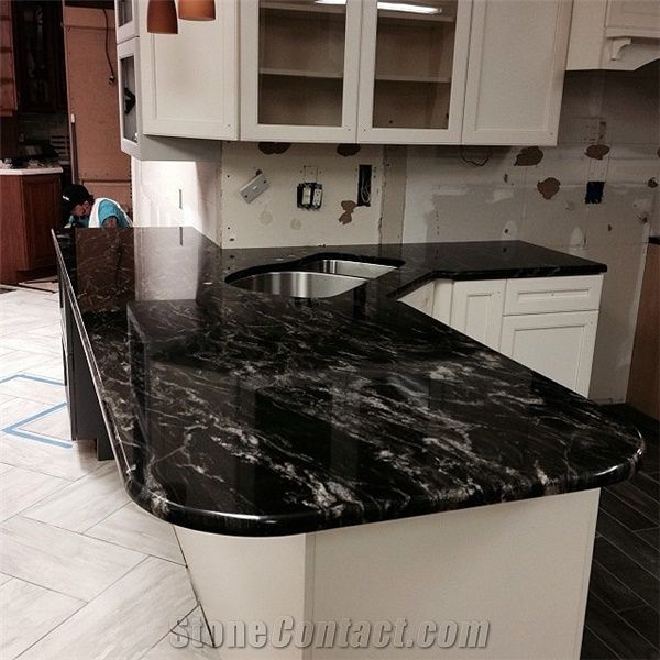 Black Forest Granite Countertop From India Stonecontact Com