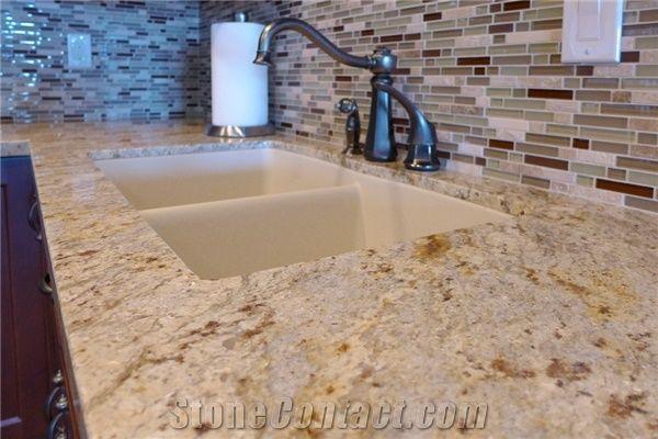Colonial Cream Granite Countertop