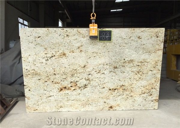 Colonial Cream Granite Slab Tiles From