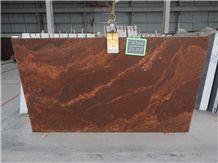 Red Multi Kanakpura Granite, Kanakpura Multicolour Granite