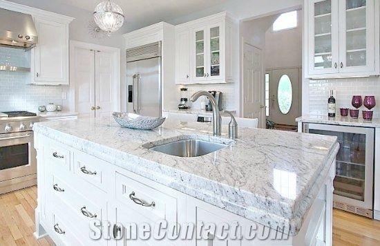 Thunder White Granite Countertops From