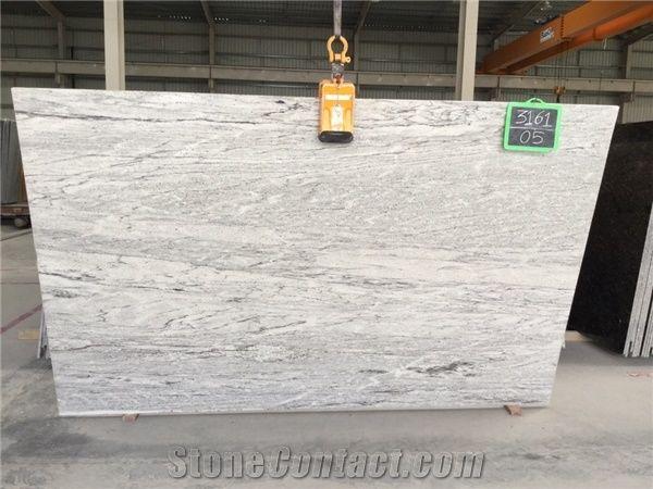 Thunder White Granite Slab From India Stonecontact Com