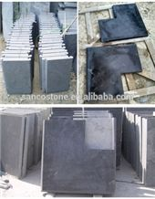 China Bluestone Tiles Slabs Wall Covering Floor Tiles Swimming Pool Coping Gray Color Stone Form Honed Surface Processing Uniform Color No Cat Paws Cut-To-Size Types