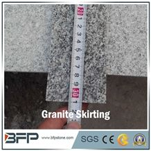 Chinese Grey Granite Skirting, Molding, Border Line for Home Decoration