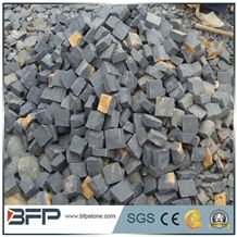 G654 Cube Stone/Light Grey Cobble Stone/Pingnan Sesame Black Square Pavers/New Impala Granite Paving Sets/Floor Covering/China Jasberg Courtyard Road Pavers/Garden Stepping Pavements/Walkway Pavers