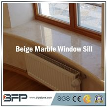 High End Yellow and Beige Marble Window Sill, Panel