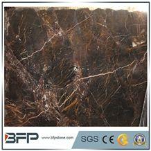 Olive Dark Brown Marble Tiles & Slabs,China Maron Marble Slabs,Marbre Brun Royal Marble Floor Covering Tiles