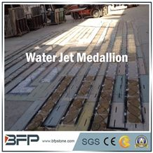 Waterjet Marble Border Line and Molding for High End Hotel Hall Floor or Wall Covering