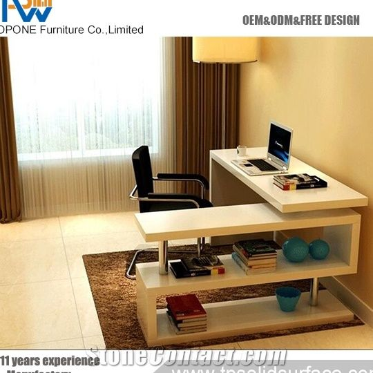 Home U003eu003e Furniture U003eu003e High End Office Desk Ornament Custom Office Table