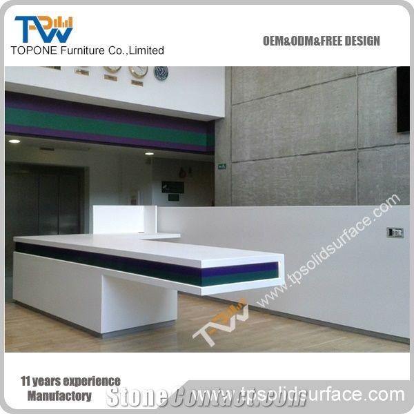 Home U003eu003e Furniture U003eu003e White Artificial Marble Office Desk For 1 Person Office  Table Furniture