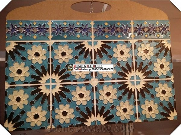 Hand Painted Kitchen Tile Kitchen Wall Tile Wall Murals Islamic Pattern Tile From China Stonecontact Com
