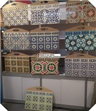 Handmade Tile,Hand Painted Wall Tile, Ceramic Pattern Tile,Kitchen Tile