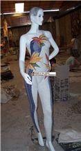 Mannequins Mosaic Pattern