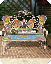 Mosaic Chairs,Mosaic Garden Chairs