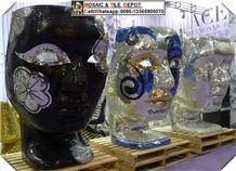 Mosaic Mask Pattern, House Mask Decorations