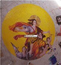 Mosaic Murals,Mosaic Medallions