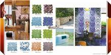 Pebble Mosaic,Glazed Mosaic Tile