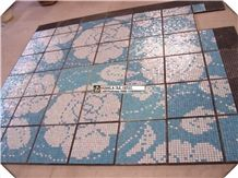 Pool Coying,Glass Mosaic for Swimming Pool