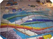 Swimming Pool Mosaic Pattern