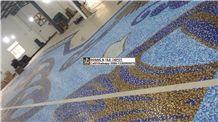 Swimming Pool Mosaic,Swimming Pool Pattern