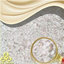 Jw Andes-Valuable Artificial Quartz Stone Slab for Kitchen Top