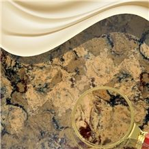 Jw Gobi-Attractive Artificial Quartz Stone Slab for Countertop