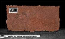 Salmon Tropical Granite, Granito Salmon Los Llanos