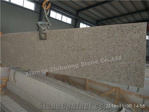 G682 Granite Countertop,Rusty Yellow,Giallo Rusty,Yellow Rust Granite,Desert  Gold,Giallo Fantasia,Giallo Ming