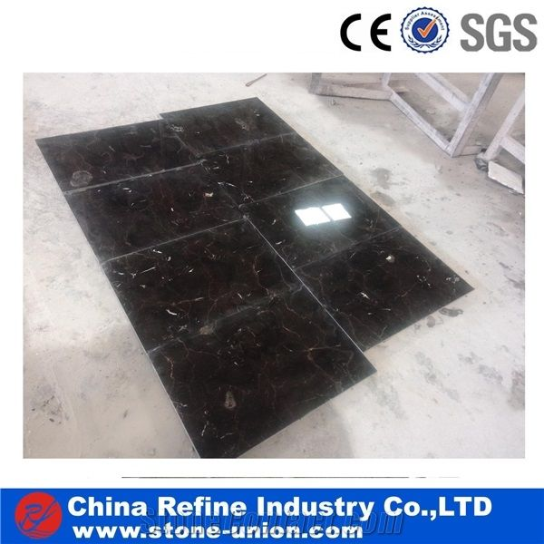 12x24 Inch Chinese Emperador Dark Marble Thin Tile Wholesalechina