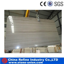 Chinese Athens Wood Grain Marble Walling Tiles