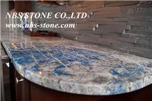 Blue Granite Kitchen Tops,Countertops Covering