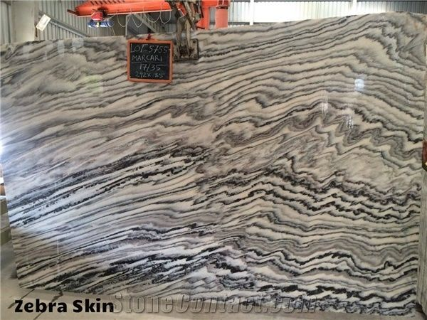 Zebra Black Marble From India 509704 Stonecontact Com
