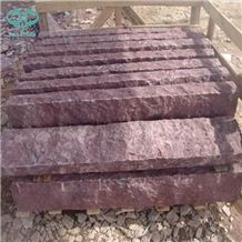 G666 Ocean Red Granite Landscaping Stone, Red Porphyry, Shouning Red Porphyry,Red Porphyrite,Porphyry Red,Liancheng Red Porphyry, Dayang Red,China Red Granite Surface Natural Palisade
