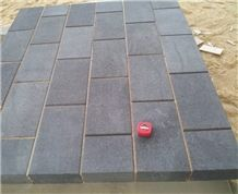 Black Basalt Cube Stone & Pavers